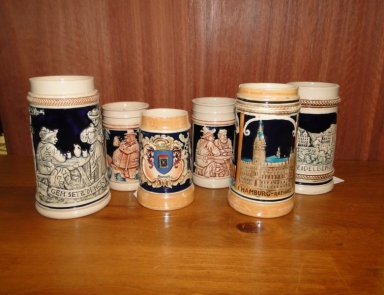 Selection of beer jugs 2