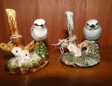 pair of bird figurines