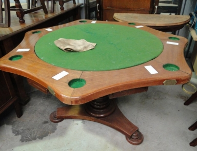 Poker from circa 1890s before restoration