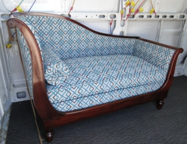 Restoration of a Chaise Lounge after